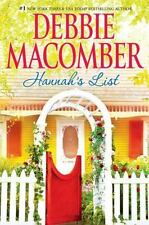 Hannah's List 7 by Debbie Macomber (2010, Hardcover)first ed