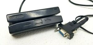IDTech IDRE-332133BEX-R1 SecureMag Magstrip Card Reader ID Tech w/ Cable & Pwr