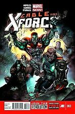 CABLE AND X-FORCE #3 MARVEL NM 1st PRINT