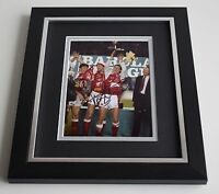 Tony Adams SIGNED 10X8 FRAMED Photo Autograph Display Arsenal AFTAL & COA