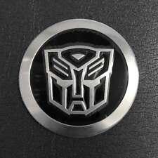 Chrome Transformer Auto Universal Gift Racing Sticker Motorcycle Car 55mm Emblem