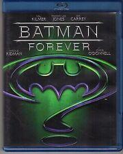 Blu-ray DISC VAL KILMER TOMMY LEE JONES JIM CARREY BATMAN FOREVER