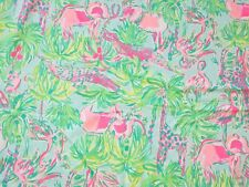 Lilly Pulitzer Poplin Cotton Fabric ~On Parade ~ 1 yard