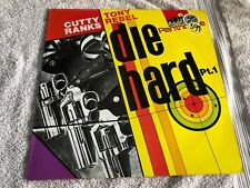 "Cutty Ranks & Tony Rebel - Die Hard Pt. 1-Vinyl 12"" Lp Vg+/Vg+ (Dglp 22)-Rare"
