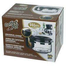 Glaskanne Wpro 484000000317 UCF100 Kaffeekanne Universal 12-15 Tassen für Filter