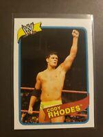 2007 WWE Topps Heritage III  40 Cody Rhodes Rookie AEW Dynamite WWF WWE 🔥🔥