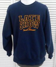 RARE Late Night with David Letterman Sweatshirt Size XL Excellent Condition Mens