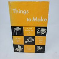 """Vintage 1955 DeltaCraft """"Thing to Make with The Tools You Have"""" Hardback Manual"""