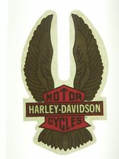 HARLEY DAVIDSON MOTORCYCLES Vintage Bar Shield IN Glass Windshield Decal Sticker