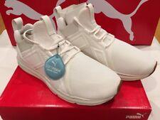 45e37497edaef1 PUMA SoftFoam Sneakers Enzo Premium Mesh Whisper White Mens Shoe Size 9.5