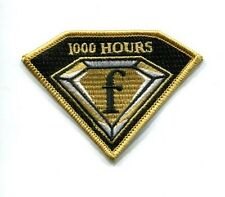 F-18 F SUPER HORNET 1000 FLIGHT HOURS US NAVY USMC VFA VMFA Squadron Patch