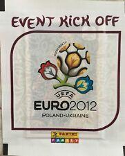 BUSTINA PANINI EURO 2012 KICK OFF NUOVA DA EDICOLA PACCHETTO NUOVO SEALED