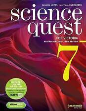 Science Quest 7 for Victoria Australian Curriculum Ed & Learnon by Lofts & Everg