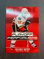 2009-10 Upper Deck Playoff Performers #PP5 Jarome Iginla Calgary Flames