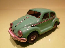 MADE IN CHINA 1:30? VW VOLKSWAGEN KAFER BEETLE -GREEN - RARE SELTEN - FRICTION