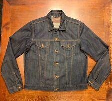 Edwin E-CLASSIC Blu ACIDO WASH 63 ARCOBALENO Selvage Denim da Uomo Giacca Di Jeans