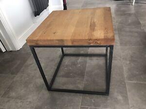 JOHN LEWIS OAK CALIA SIDE TABLE