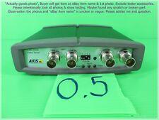 AXIS 240Q, 4CH. Video Server as photo, sn:6BF6, Useable 3 ch. & FAIL 1 ch.