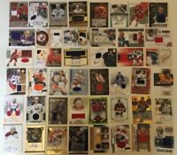 $30+ 3 CARD JERSEY/PATCH/AUTO HOCKEY CARD LOT BECKETT RETAIL VALUE