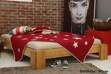 BURMA Bambusbett ohne Rückenlehne 160x200cm, 30cm oder 40cm Bett Höhe, NEU!