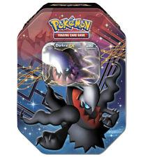 Darkrai EX Hoenn Collectors Tin Pokemon Card | 4 Booster Packs + foil Holo Promo