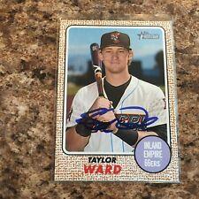2014 Panini USA Baseball Box Set Signatures Autographed//399 #17 Taylor Ward Auto