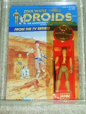 Vintage Star Wars 1985 AFA 80 JANN TOSH DROIDS TV Cartoon Series Kenner MOC!