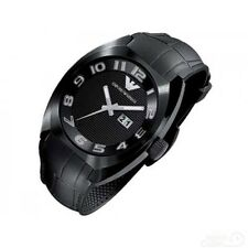 Emporio Armani AR5844 Men's Black Rubber Band Date Display Sport Watch