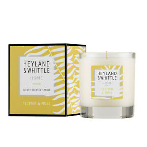 Heyland & Whittle Home Candle - Vetiver & Musk