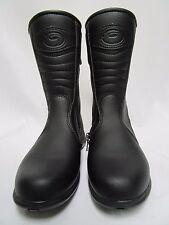 Sidi Jasmine Rain Proof Women's Black Motorcycle Touring Boots Size 36 EU, 4.5US