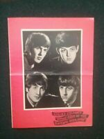 OLD BEATLES CONCERT PROGRAMME , THE BLACKPOOL OPERA HOUSE ,REPRODUCTION SOUVENIR