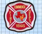 Fire  Patch  - TEXAS COMMERCE FIRE DEPT
