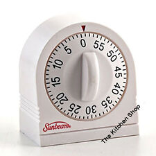 Timer 60 Minute Extended Ring Kitchen Timer by Sunbeam (Free Shipping)