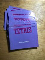 Tetris  Nintendo NES Instruction Manual Booklet Only