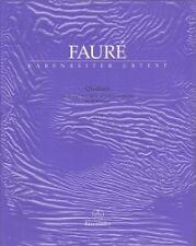 FAURE QUATUOR Op15 Piano Quartet Score & Parts