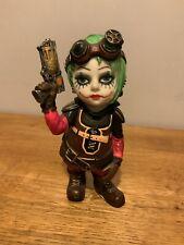 Jokers Mischief Cosplay Kids 14.5cm Steampunk Harley Quinn Figurine. Nemesis Now
