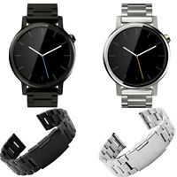 LUXURY 316L Stainless Steel Bracelet For Moto 360 2nd 42mm/46mm Watch Band US