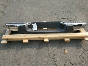 (NO SHIPPING) Rear Bumper Without Trailer Hitch Chrome Fits 04-12 CANYON 869910