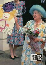 The Queen Mother, Mum, Birthday --- Royal Family Trading Card, Not a Postcard