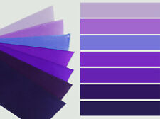 3-yd 1.5 inch SATIN ribbon plum purple concord pastel lilac lavender grape trim
