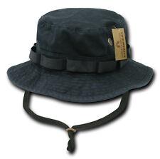 Woodland Camo Military Boonie Hunting Army Fishing Bucket Jungle Cap Hat M L XL