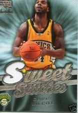 2007-08 SWEET SHOT SWEET STITCHES CHRIS WILCOX