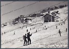 VERCELLI SCOPELLO 50 MERA VALSESIA NEVE SCI SSKIKY Cartolina FOTOGR. viagg. 1952