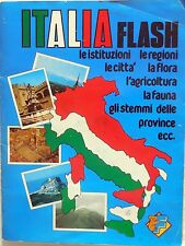 ALBUM FIGURINE ITALIA FLASH 1983 COMPLETO FIGURINE LAMPO STICKERS