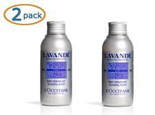 2 x L'Occitane En Provence Lavender Collection LAVANDE Foaming Bath 3.3 oz NEW