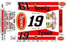 #19 Chad Little Tysons Ford Thunderbird 1/32nd Scale Slot Car Decals