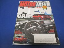 Motor Trend Magazine, October 2013, 168 Models Rated & Reviewed, Chevy,Mazda
