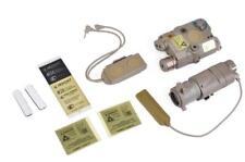 Set Sale Airsoft PEQ15 Tactical Red/IR Laser Flashlight M3X Light 2 Plug Switch