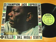 "STEREO BLUES LP - CHAMPION JACK DUPREE - ATLANTIC 8019 - ""BLUES FROM THE GUTTER"""