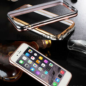 "Ultra thin Aluminum Metal Bumper Frame Case Cover For iPhone 6S 4.7"" 6S Plus"